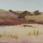 Beach Grass, Bramble and Field