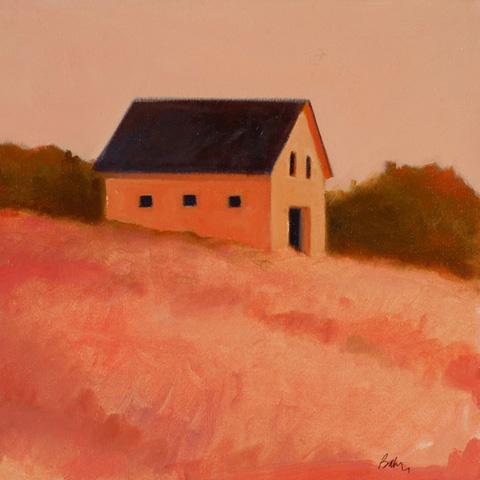 Small Pink Barn